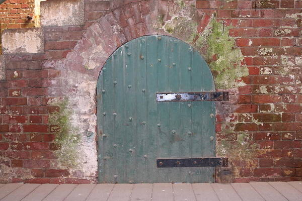 Photograph - Rustic Entry  by Christy Pooschke