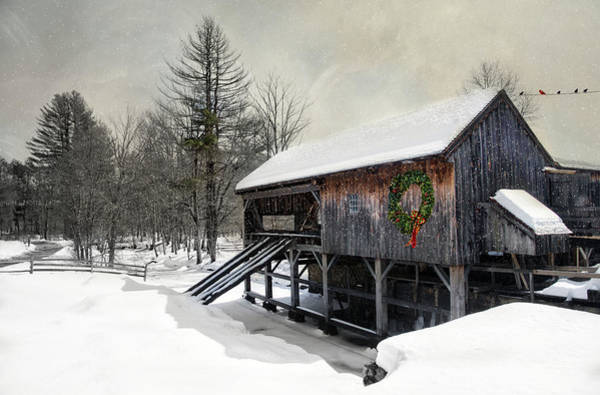 Photograph - Rustic Holiday by Robin-Lee Vieira