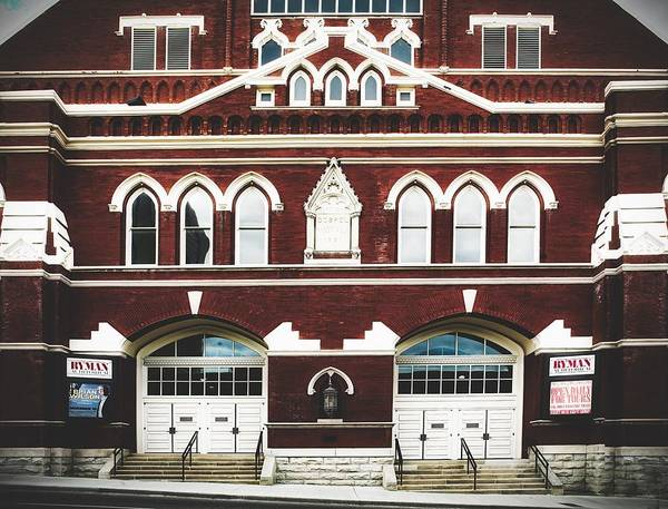 Ryman Auditorium Photograph - Ryman Auditorium -the Home Of Country Music by Library Of Congress