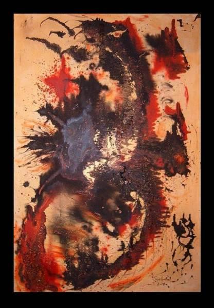 Emperor Of Japan Wall Art - Painting - Ryu II by Alexander Snehotta von Kimratshofen