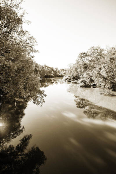 Photograph - Sabine River Near Big Sandy Texas Photograph Fine Art Print 4108 by M K Miller