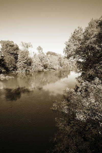 Photograph - Sabine River Near Big Sandy Texas Photograph Fine Art Print 4111 by M K Miller