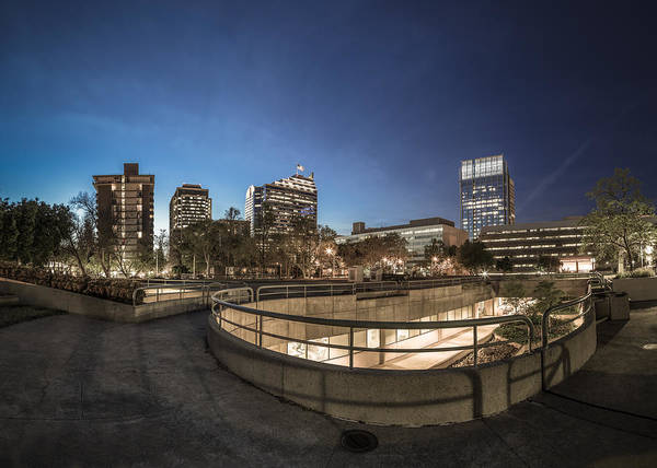 Photograph - Sacramento Rooftop Park by Lee Harland