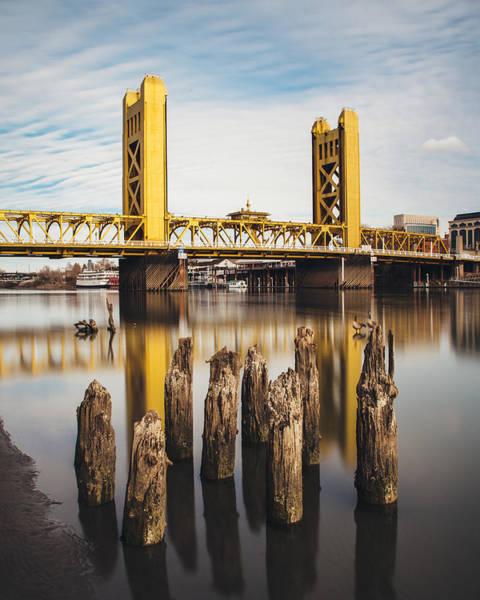 Photograph - Sacramento Tower Bridge by Lee Harland