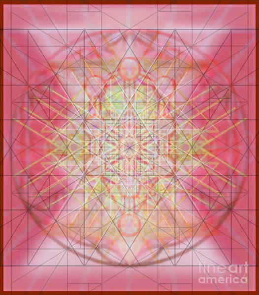 Digital Art - Sacred Symbols Out Of The Void 1b by Christopher Pringer