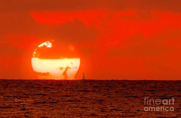 Wall Art - Photograph - Sail Into The Sunset by Marvin Spates