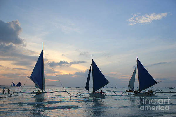 Photograph - Sailboats by Wilko Van de Kamp