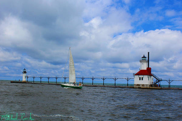 Ocean Wall Art - Photograph - Saint Joseph Lighthouse by Michael Rucker
