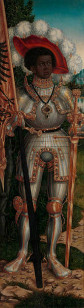 Renaissance Painters Wall Art - Painting - Saint Maurice by Lucas Cranach the Elder Workshop