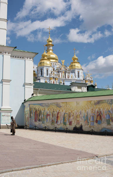 Wall Art - Photograph - Saint Michael's Golden-domed Monastery, Kiev, Ukraine by Juli Scalzi