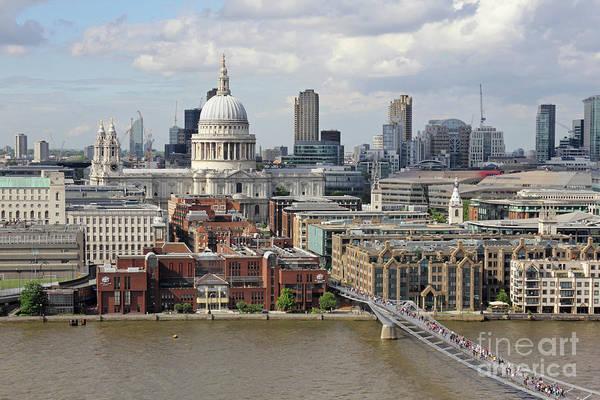 Photograph - Saint Pauls London by Julia Gavin
