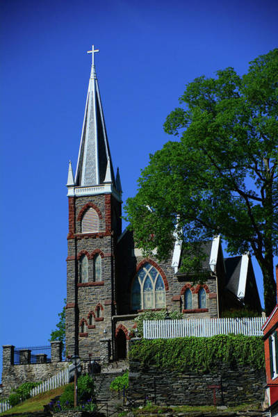 Photograph - Saint Peter's Roman Catholic Church In Harpers Ferry by Raymond Salani III