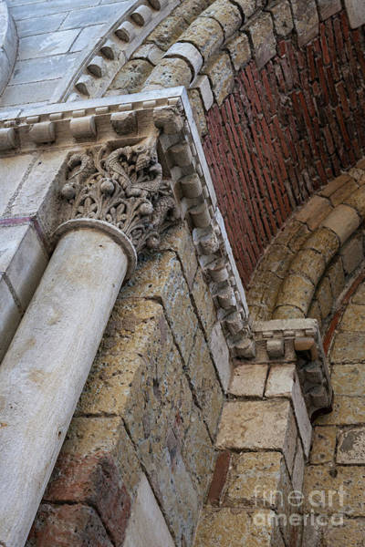 Wall Art - Photograph - Saint Sernin Basilica Architectural Detail by Elena Elisseeva