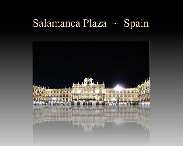 Photograph - Salamanca Plaza Spain by John Shiron