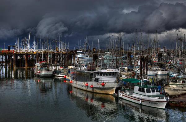 Photograph - Salish Storm by Randy Hall
