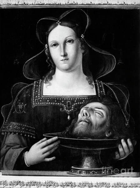 Photograph - Salome And John The Baptist. For Licensing Requests Visit Granger.com by Granger