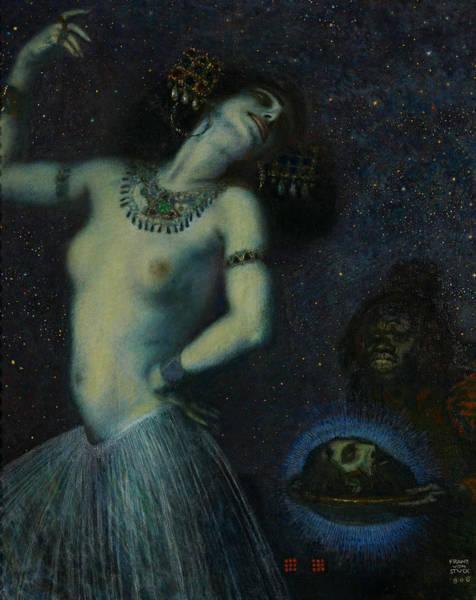 Franz Von Stuck Painting - Salome by Franz von Stuck