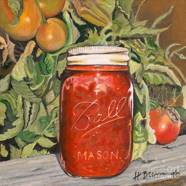 Holly Brannan Wall Art - Painting - Salsa by Holly Bartlett Brannan