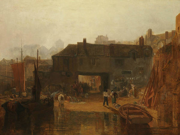Painting - Saltash With The Water Ferry, Cornwall by Joseph Mallord William Turner