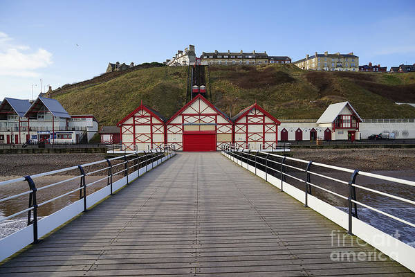 Tractor Photograph - Saltburn On Sea by Smart Aviation