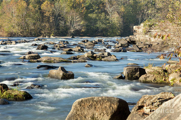 Photograph - Saluda River Rapids - 2 by Charles Hite