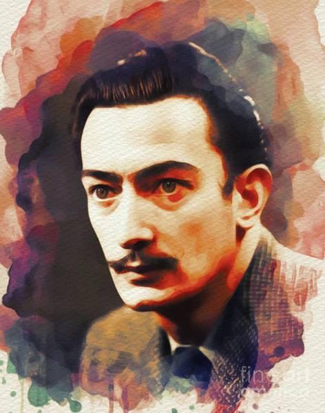 Dali Painting - Salvador Dali, Artist by John Springfield