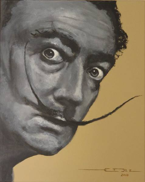 Painting - Salvador Dali by Eric Dee
