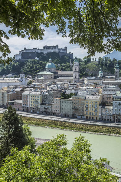 Mozart Photograph - Salzburg Gorgeous Old Town by Melanie Viola