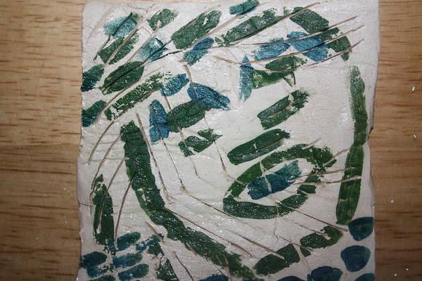 Ceramic Art - Samson - Tile by Gloria Ssali