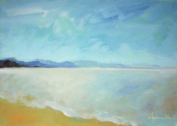 Painting - San Blas Seascape by Angela Treat Lyon