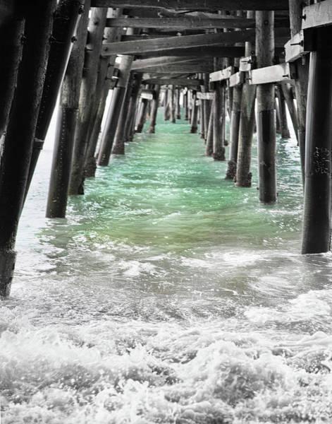 Under The Pier Photograph - San Clemente Pier by Rosanne Nitti