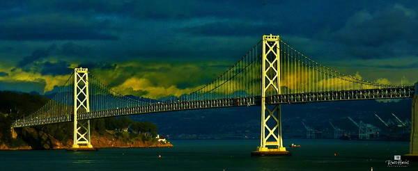 San Francisco Bay Bridge Art Print