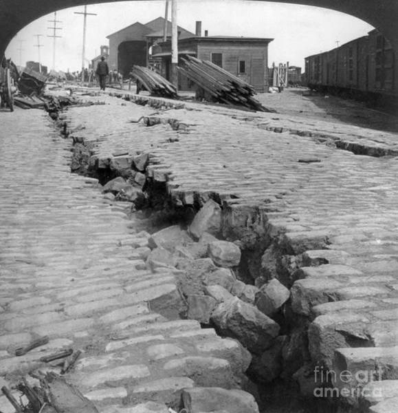 Photograph - San Francisco Earthquake by Granger