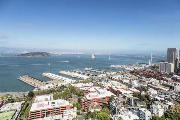 Photograph - San Francisco Embarcadero And Bay Bridge by Didier Marti