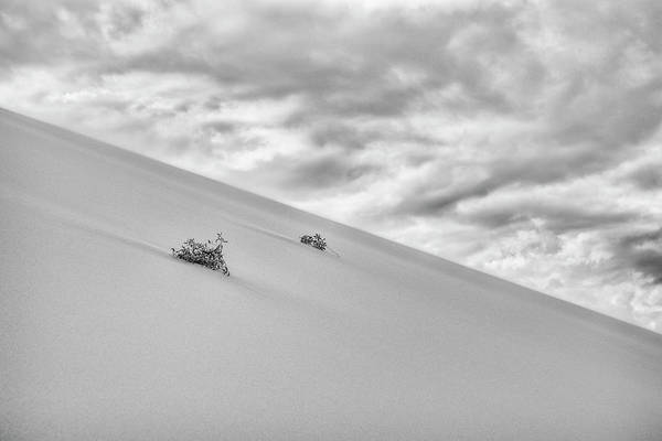 Photograph - Sand And Clouds by Hitendra SINKAR