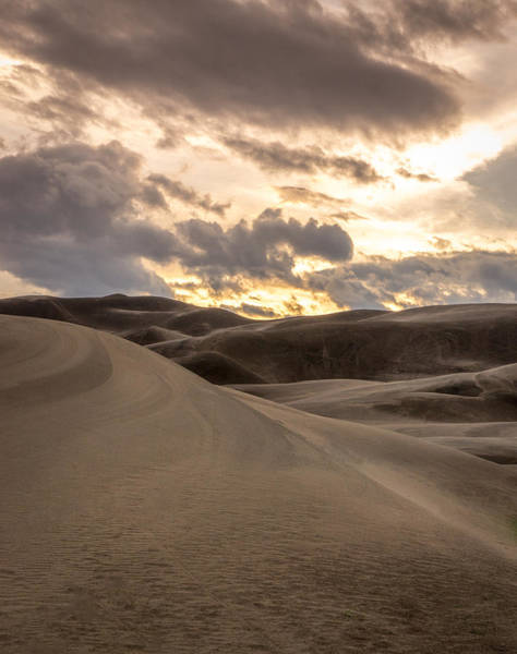 Photograph - Sand Dune Sunset by Brian  Weiss