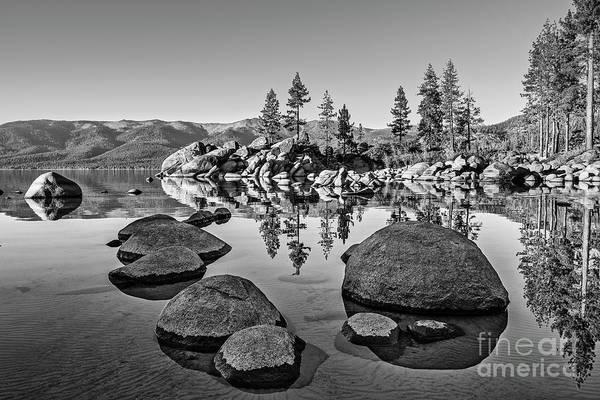 Wall Art - Photograph - Sand Harbor Rock Garden by Jamie Pham