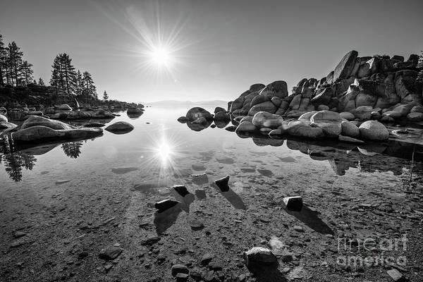 Wall Art - Photograph - Sand Harbor Star by Jamie Pham
