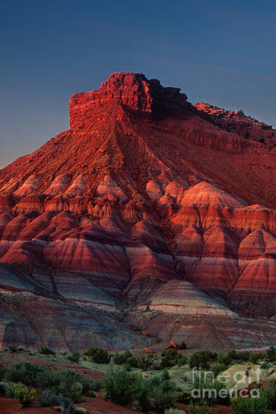 Photograph - Sandstone Butte Near Paria Canyon Southern Utah by Dave Welling