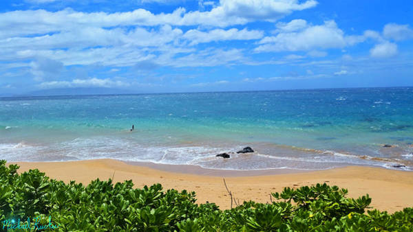 Ocean Wall Art - Photograph - Sandy Beaches Of Maui by Michael Rucker