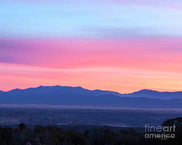 Photograph - Sangre De Cristo Sunrise by Steven Natanson