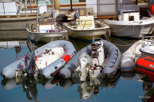 Wall Art - Photograph - Santa Barbara Boat Rentals by Barbara Snyder