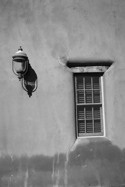 Photograph - Santa Fe - Adobe Window And Light by Frank Romeo