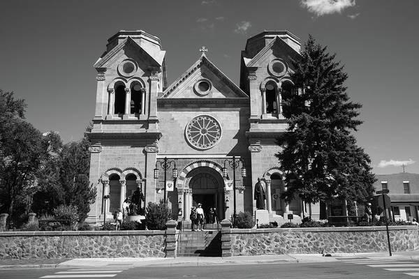 Photograph - Santa Fe - Basilica Of St. Francis Of Assisi by Frank Romeo