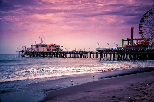 Photograph - Santa Monica Pier Collection- 2/36 by Gene Parks