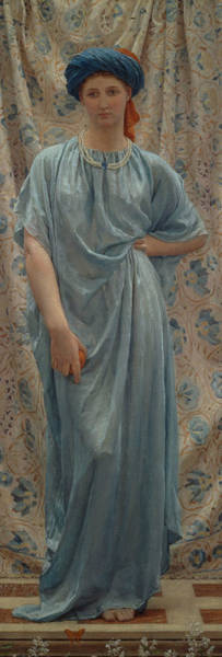 Wall Art - Painting - Sapphires by Albert Joseph Moore