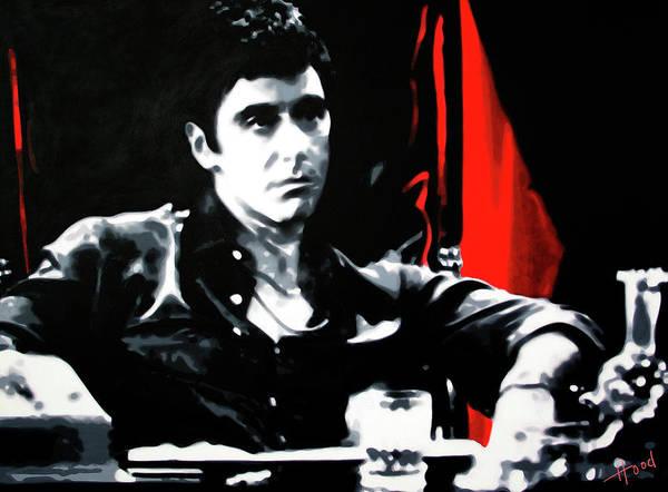 Howard Painting - Scarface by Hood alias Ludzska