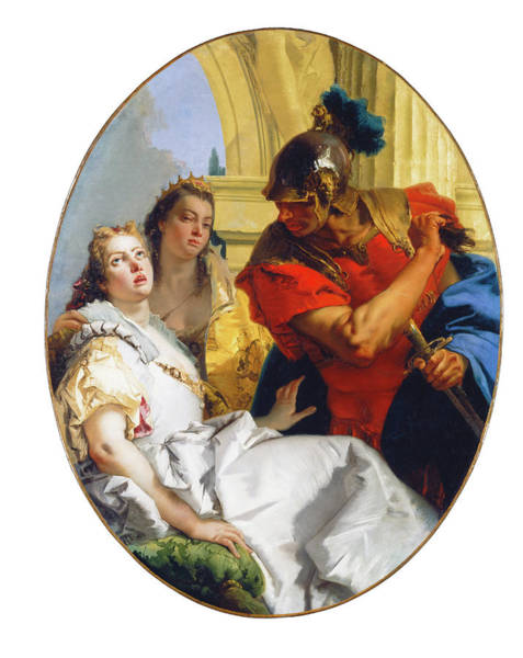 Painting - Scene From Ancient History by Giovanni Battista Tiepolo