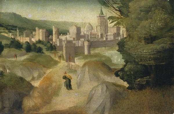 Wall Art - Painting - Scenes From A Legend by Giovanni Larciani - master Of The Kress Landscapes