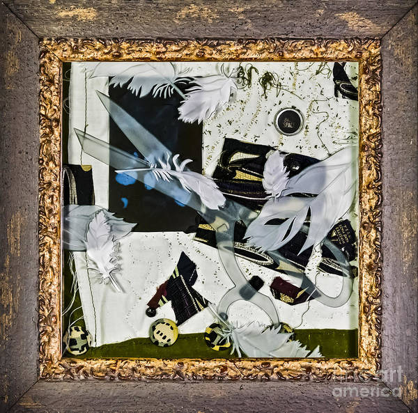 Glass Art - Remembrance II by Alone Larsen